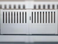 Portail PVC battant Arlay L326 H126