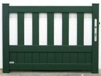 Portillon alu Baume Vert 6009