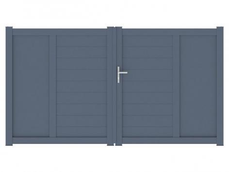 Portail aluminium Quartz packshot 3D