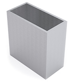 Montant gamme Industrie 80 x 40 x 3 mm ou 100 x 50 x 4 mm