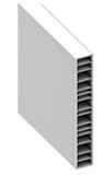 Barreau PVC de 165 mm de la gamme Littoral