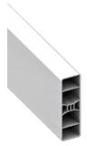 Barreau PVC de 80 mm de la gamme Littoral